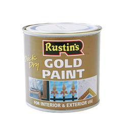 Rustin's Gold Paint