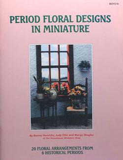 """Period Floral Designs I Miniature"""