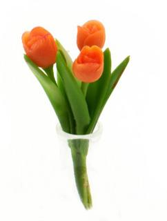 Buket - Orange tulipaner